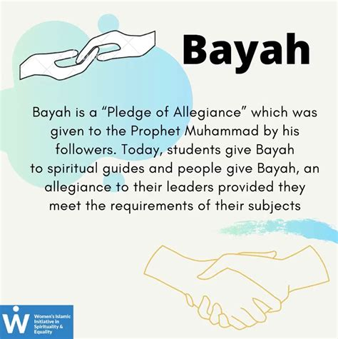 What Is Bayah In Islam