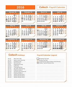 2020 Payroll Calendar Template Payroll Calendar Template 10 Free Excel Pdf Document