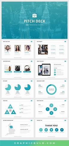 Powerpoint Deck Template Free Pitch Deck Powerpoint Template