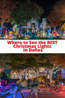 Where To Look At Christmas Lights In Dallas Where To View Christmas Lights In Dallas