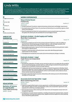 Resumes For Stay At Home Stay At Home Resume Examples Amp Writing Guide For 2020