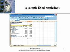 Sample Microsoft Excel Ppt Microsoft Office Excel 2003 Powerpoint Presentation