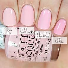 Opi Light Pink Gel Nail Polish Opi Small Cute Comparison Hello Kitty Collection