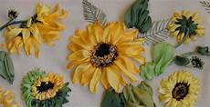 sunflowers embroidery kit