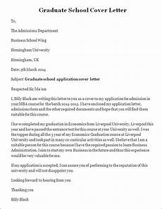Cover Letters For College Graduates Cover Letter For Graduate Admission Application Pspl