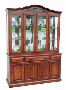 amish dining room hutch china cabinet surrey rustic