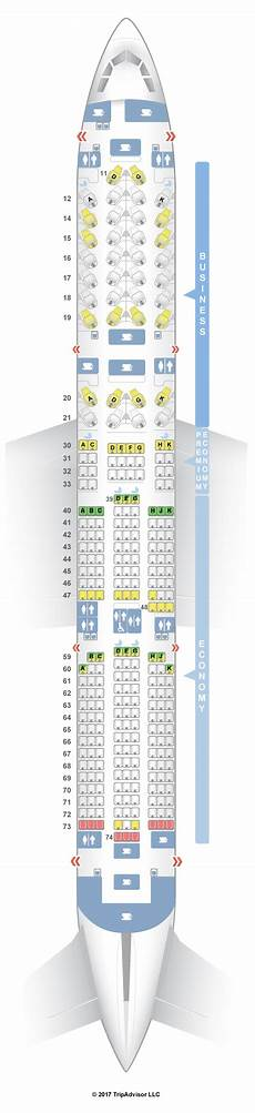 Airbus A350 900 Seating Chart Seatguru Seat Map Cathay Pacific Airbus A350 900 35g