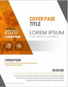 Professional Report Cover Page 5 Best Professional Cover Page Templates For Ms Word Ms