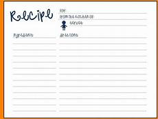 Word Template Recipe 003 Recipe Format For Word Blank Template Best Excellent