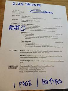 Common Resumes Beembraced 7 Most Common Resume Mistakes