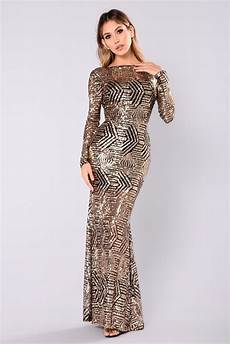 Light Gold Sequin Dress Emely Sequin Dress Black Gold