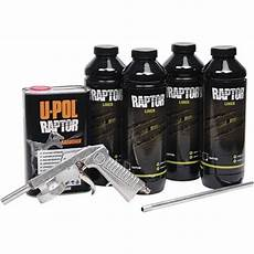 u pol raptor bed liner kits for paints primers tp