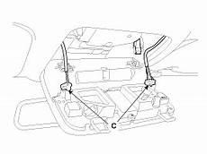 Hyundai Elantra Overhead Console Lamp Repair Procedures