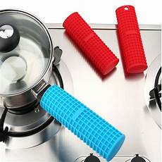 pot handle holder sleeve cocktail 1 silicone pot pan handle holder sleeve cover grip