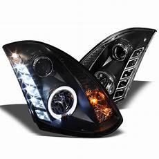 G35 Coupe Led Lights Spyder 2003 2007 Infiniti G35 Headlights