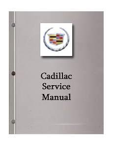 2005 Cadillac Sts Factory Service Manual Set