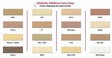 Natural Wood Colors Chart Eclectic Products 6769491 Famowood Original Wood Filler