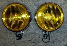 Amber Driving Lights Purchase Bumper Mount Round Amber Glass Fog Lights Vw Bus