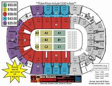 St Charles Family Arena Seating Chart With Seat Numbers Bret