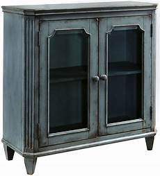 mirimyn antique teal accent cabinet from coleman