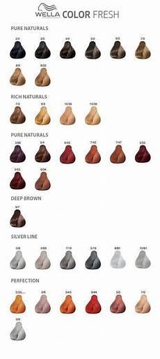Wella Colour Id Chart Wella Colour Fresh Gray In 2019 Sliver Hair Color