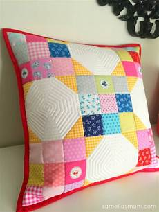 strawberry biscuit patchwork pillow tutorial samelia s