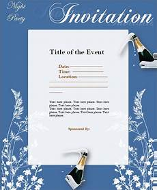 Event Invitation Examples Free 14 Event Invitation Templates In Ai Ms Word