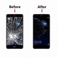 Huawei P10 Werkzeug by Front Display Glas F 252 R Huawei P10 Lite Weiss Frontglas