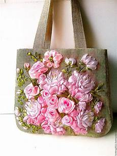embroidery bag flower garden embroidered by