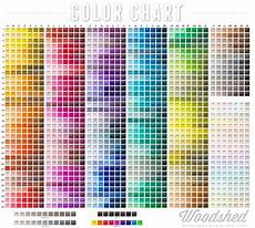 Mab Paint Color Chart Color Chart Woodshed Stage Art