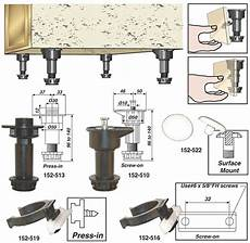 woodworker adjustable cabinet levelers handle uneven