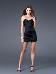 wearing the black dress the wow style