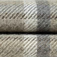 mcalister textiles heritage pale beige grey tartan stag