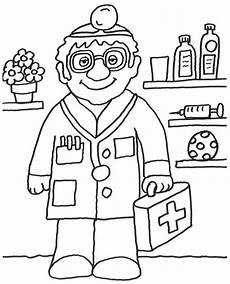 Kinder Malvorlagen Berufe Ausmalbild Berufe Kostenlose Malvorlage Arzt Kostenlos