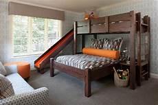 custom bunk beds play house perpendicular