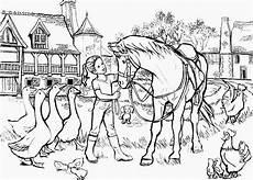 Pferde Ausmalbilder Reiten Malvorlagen Pferd