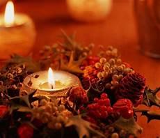 immagini candele natalizie centrotavola natale foto pourfemme