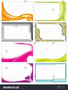 Blank Name Card Template Name Card Template Stock Vector 29680915 Shutterstock