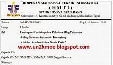 contoh undangan kegiatan workshop contoh isi undangan