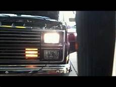 Led Lights For 85 Chevy Truck 84 Chevy Hid Problem Youtube