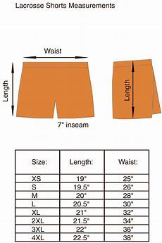 Trimming Shorts Size Chart Size Charts For Products Projoy Sportswears And Apparel