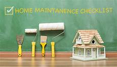Home Maintence Home Maintenance Checklist Customer Care