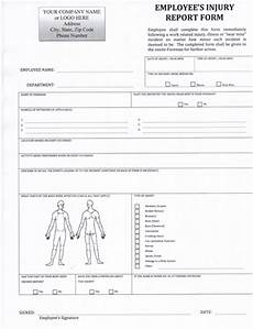 Workers Comp Incident Report Form Employee Accident Report Form 5 99 Download Now