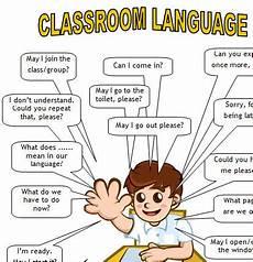 English Language Charts For Classroom Classroom Language