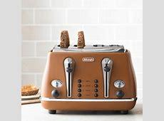 Delonghi Vintage Icona Toaster Copper   Lakeland