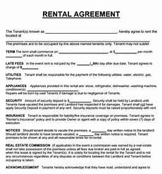 Free House Rental Lease House Rental Lease Agreement Gtld World Congress