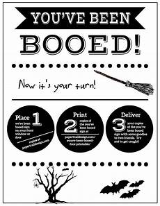 Printable Sign You Ve Been Booed Free Printable Signs Paper Trail Design