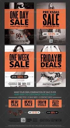 For Sale Flyers Store Sale Flyer Template By Katzeline Graphicriver