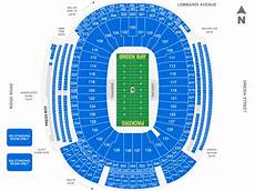 Green Bay Packers Seating Chart Lambeau Field Green Bay Tickets Schedule Seating