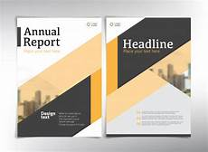 Report Cover Pages Annual Report Cover Pages Premium Vector